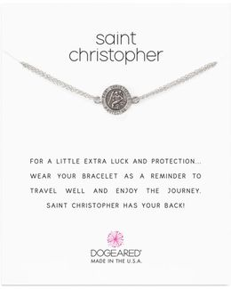 Saint Christopher Chain Bracelet