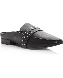 Women's Renold Studded Leather Mules