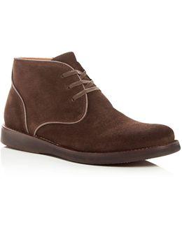 John Varvatos Men's Star Usa Brooklyn Suede Chukka Boots