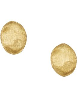 """siviglia Collection"" Gold Stud Earrings"