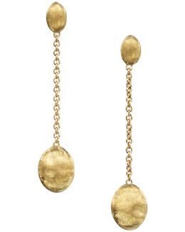 """siviglia Collection"" Gold Drop Earrings"