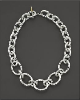 "Sterling Silver ""bastille"" Chain Necklace"