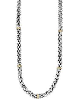 'signature' Rope Necklace