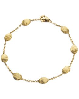 """siviglia Collection"" Bracelet In 18 Kt. Yellow Gold"
