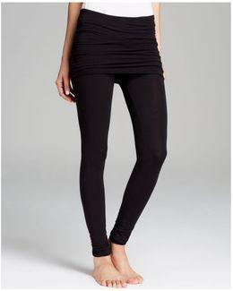 Skirt Leggings - Fold Over