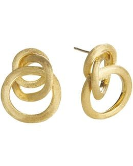 Jaipur 18k Yellow Gold Loop Earrings