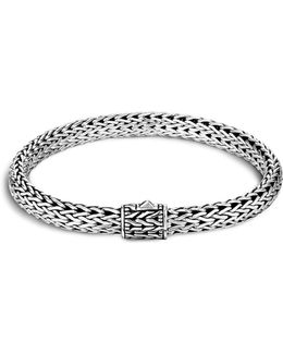 Men's Sterling Silver Small Chain Bracelet