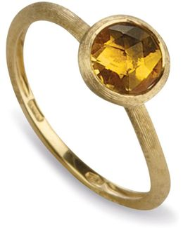 Citrine Stackable Jaipur Ring