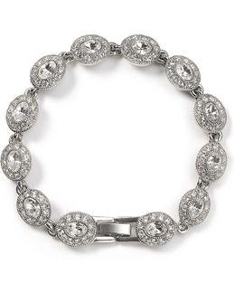 Topaz Oval Stone Flex Bracelet