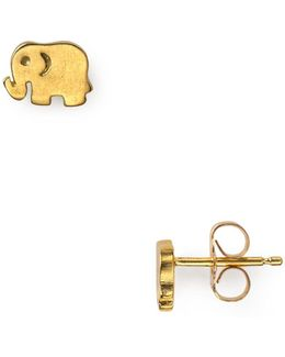 Little Elephant Stud Earrings