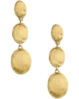 18k Yellow Gold Siviglia Drop Earrings