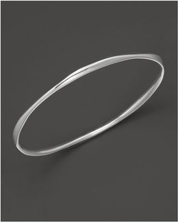 Sterling Silver Squiggle Bangle