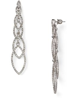 Navette Linear Earrings