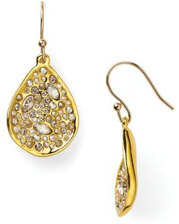 Miss Havisham Crystal Encrusted Drop Earrings