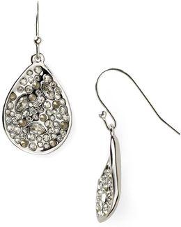 Miss Havisham Crystal Encrusted Drop Earrings