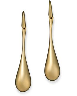 18k Yellow Gold Drop Earrings