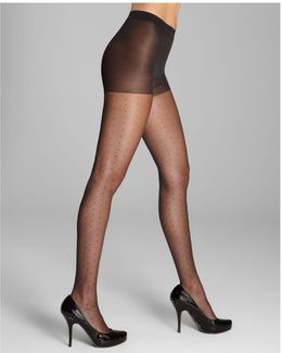 Tulle Dot Sheer Tights