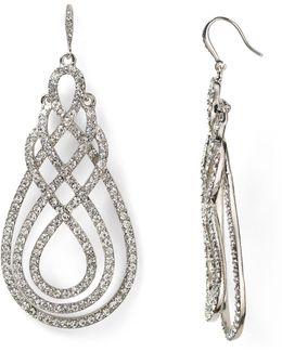 Scroll Drop Earrings