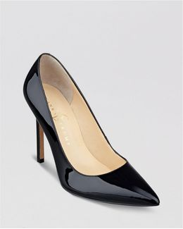 Carra Pointed Toe High Heel Pumps