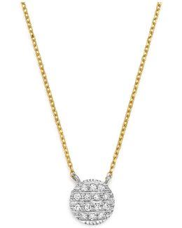 14k White & Yellow Gold Lauren Joy Mini Necklace With Diamonds