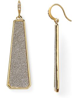 Glitter Linear Earrings