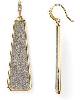 Glitter Linear Earrings
