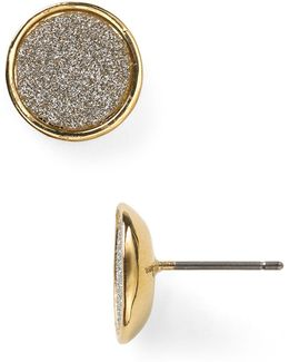 Glitter Stud Earrings
