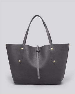 Isabella Small Leather Tote