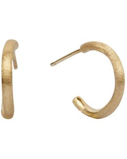 Delicati Hoop In 18k Yellow Gold