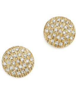 14k Yellow Gold Diamond Lauren Joy Medium Earrings