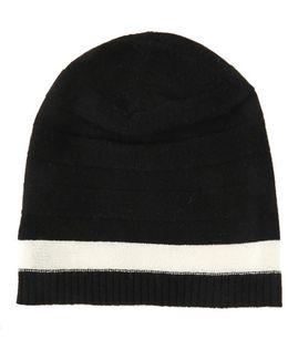 Hat Reverse Stitch & Stripe