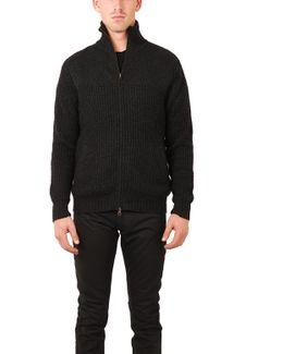 Chunky Full Zip Sweater
