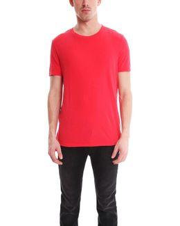 Josh Round Neck Tee Bright Red
