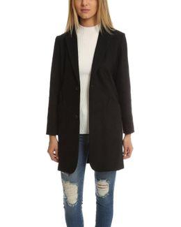 Heathered Overcoat