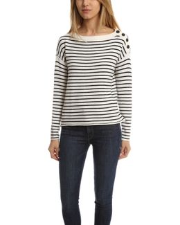 Atm Striped Sailor Sweater