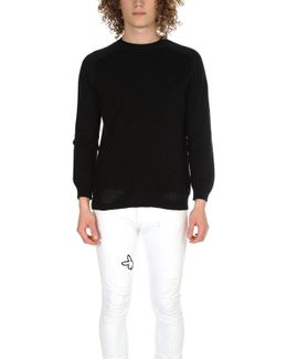 Mended Crewneck Sweater