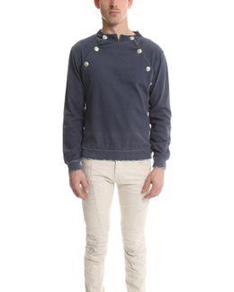 Denim Cotton Sweatshirt
