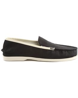 Black Boat Loafer