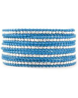 Sky Blue Wrap Bracelet