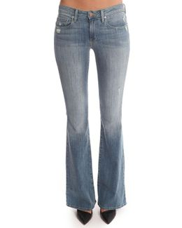 Leaf Fit And Flare Jean