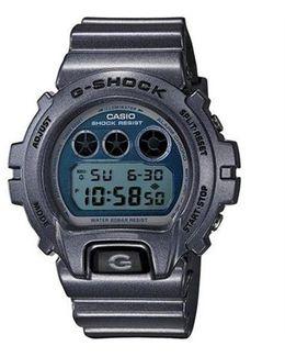 G Shock Metallic Blue Dw-6900c