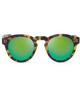 Leonard Tortoise / Green Mirror