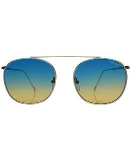 Mykonos Ii Gold W/ Blue Gradient