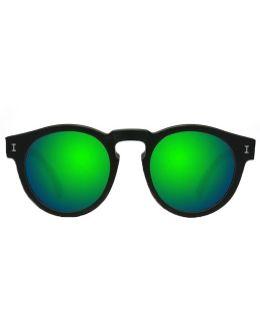 Leonard Ii Black With Green