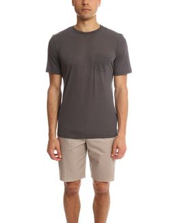 The Round-neck T-shirt Carbone