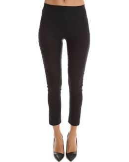 Legging With Back Zip