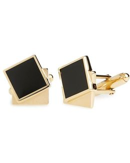 Double Square Cuff Links