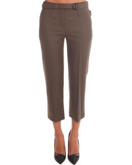 Slim Cropped Pant