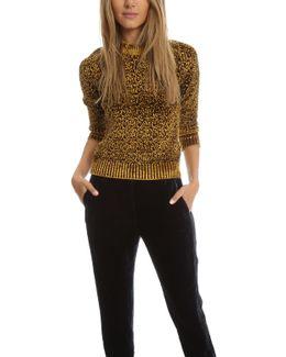 Raglan Crewneck Sweater