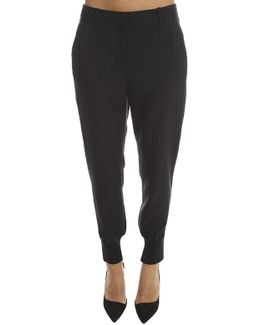 3.1 Phillip Wool Stripe Jogger Pant